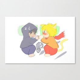 chiby yaoi Canvas Print