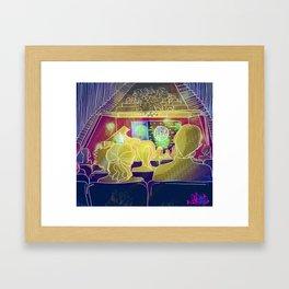 Music in colours Framed Art Print