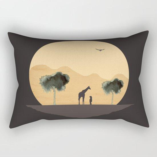 The Runaway Rectangular Pillow