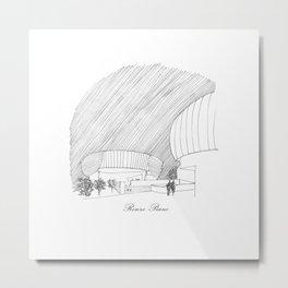 Renzo Piano Metal Print