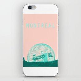Montreal Biosphere Pastel iPhone Skin