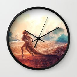 ARIES from the Dancing Zodiac Wall Clock