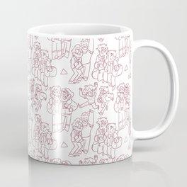 Stan and Ford Pattern Coffee Mug