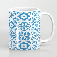 spanish Mugs featuring Spanish Tiles by Morris & Essex