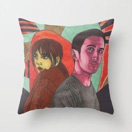 2049 Throw Pillow