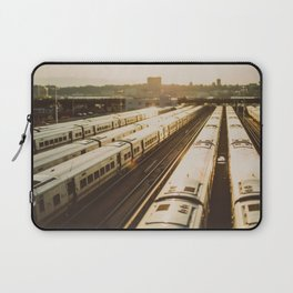 NYC Trains Laptop Sleeve