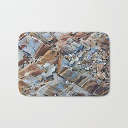 Natural Rock Pattern Bath Mat