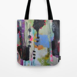 Acrylic Quilt Tote Bag