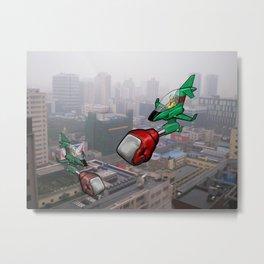 Chengdu Skies Metal Print