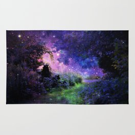 Fantasy Path Night Rug