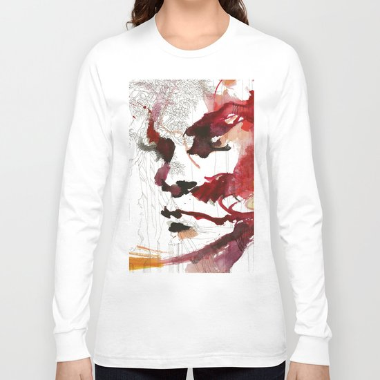 I'll give some burning colours to your white forest Long Sleeve T-shirt