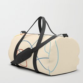 Crooked Lines #1 Duffle Bag