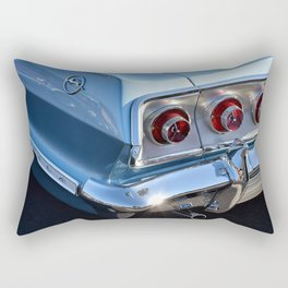 Blue '63 Chevy Impala Rectangular Pillow