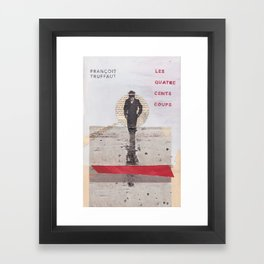 400 BLOWS -- Francois Truffaut Framed Art Print