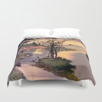 "asian Duvet Covers featuring "" ASIAN DREAM "" by James Dunlap"
