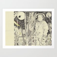 lost planet Art Print