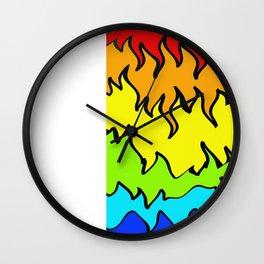 digitalrainbow Wall Clock