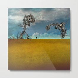The Things Metal Print