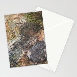 Vibrant Wood Cracks Stationery Cards