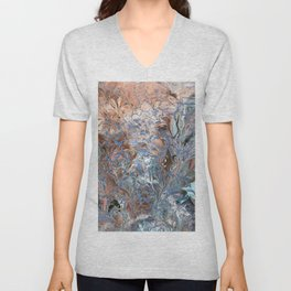 Abstract liquid background 23 Unisex V-Neck