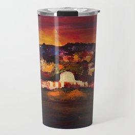 Jerusalem at Dawn Travel Mug