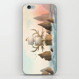 The Antlered Ship_Cover iPhone Skin