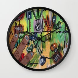Charlie on the 25th Wall Clock