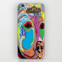 rottweiler iPhone & iPod Skins featuring Lady Rottweiler by EloiseArt