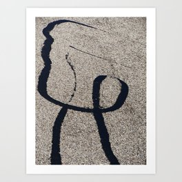Man on the Street Art Print