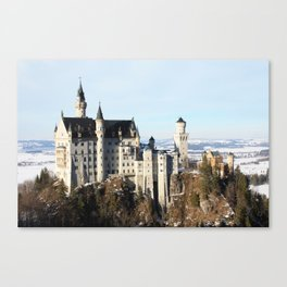 Castle Neuschwanstein Canvas Print