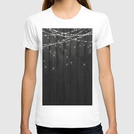 Fairy Lights on Wood 07 T-shirt