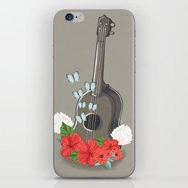 Ukelele Bloom iPhone Skin