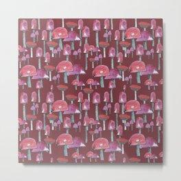 The red mushrooms Metal Print