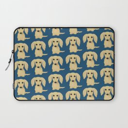 Longhaired Cream Dachshund Laptop Sleeve