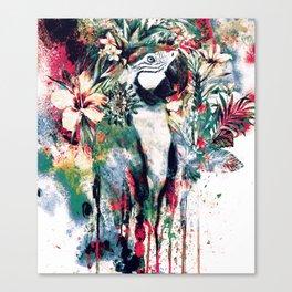 Interpretation of a dream - Parrot II Canvas Print