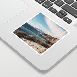 Aqua Coast Sticker