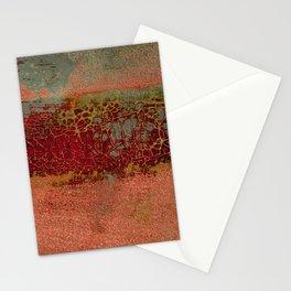 Dinosaur Skin Maroon Stationery Cards