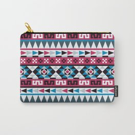 Aztec Geometric Pattern Carry-All Pouch