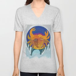 Cancer / Altarf / Zodiac Unisex V-Neck
