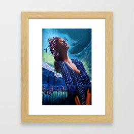"""""""The ultimate seduction of Mary"""" Framed Art Print"""