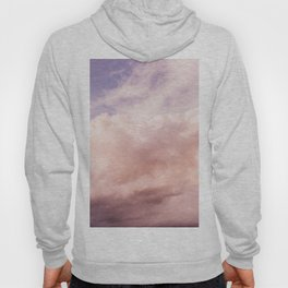 Perfect Pink Summer Sky Nature Photography Hoody