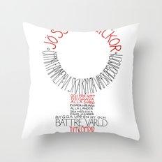 Jösses flickor Throw Pillow