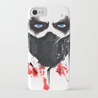 bucky iPhone & iPod Cases featuring Bucky Barnes by akaori_art