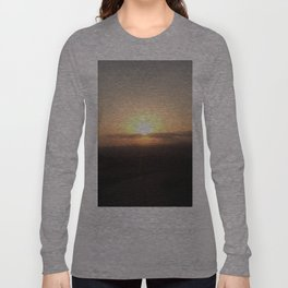 Angelic Skyline Long Sleeve T-shirt