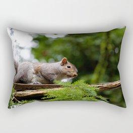 Squirrel Looking Rectangular Pillow