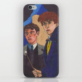 Wizard Brothers iPhone Skin