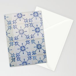 Portuguese tile 7 Stationery Cards