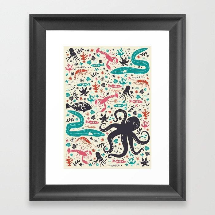 Sea Patrol Framed Art Print