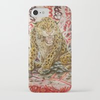 leopard iPhone & iPod Cases featuring Leopard by Michael Hammond