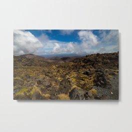 Tongariro National Park, NZ Metal Print